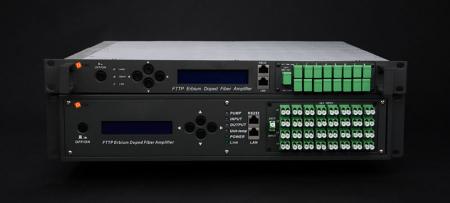 HO-5800 Оптический усилитель EDFA повышенной мощности с 8 ~ 32 оптическими выходами
